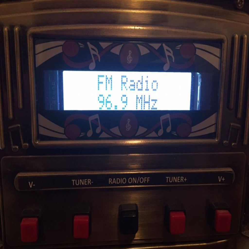 Projects - FM Radio with Arduino, LCD and Si4703 Australia