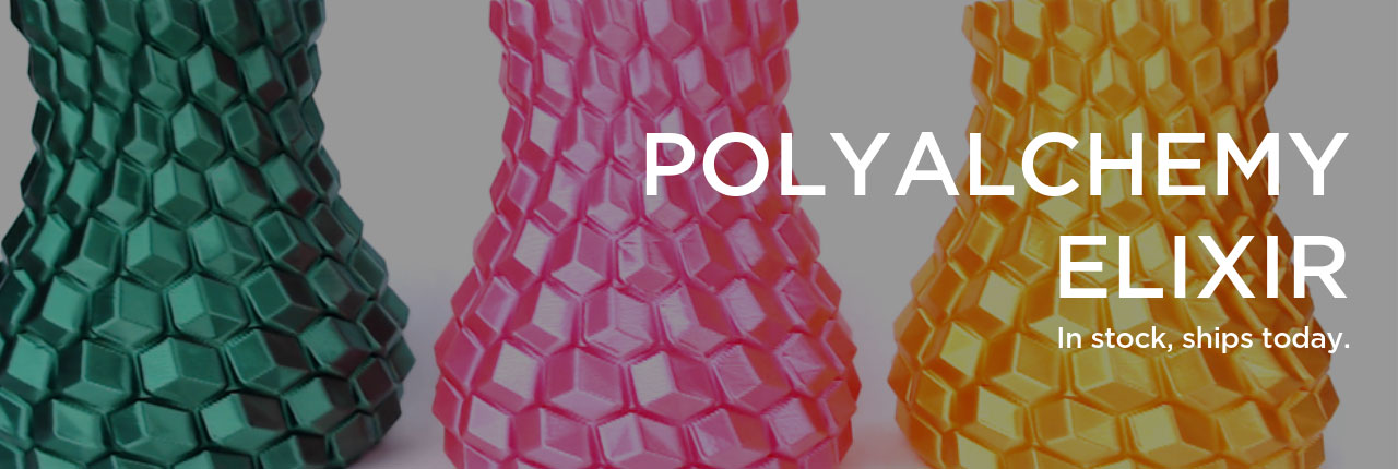 Polyalchemy Filament for 3D Printers