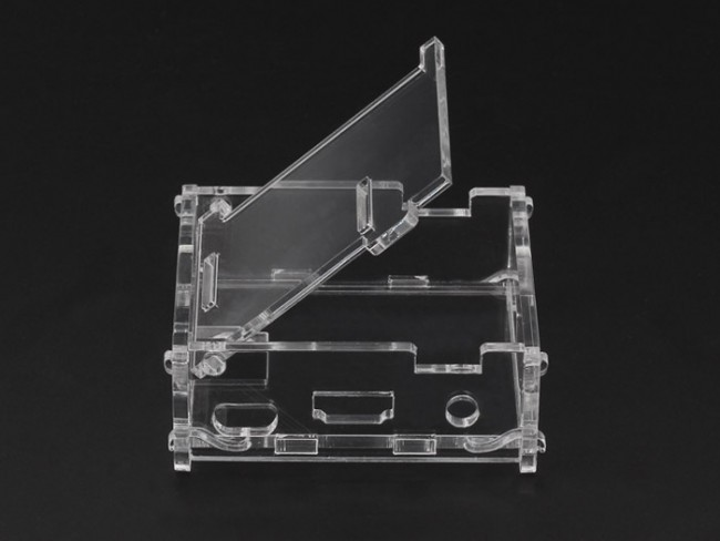Raspberry Pi A+ Acrylic Enclosure - Clear (Seeed Studio)  SS114990196 Seeed Studio Australia (Image 5)