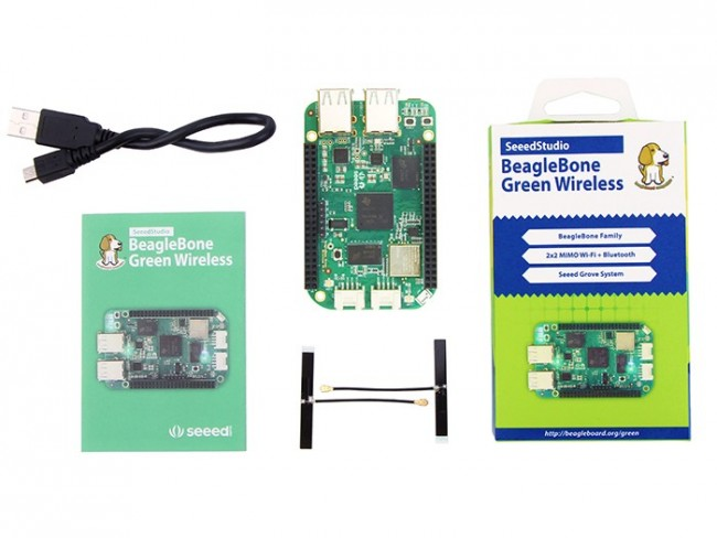 SeeedStudio BeagleBone Green Wireless SS102010048 Seeed Studio Australia (Image 2)