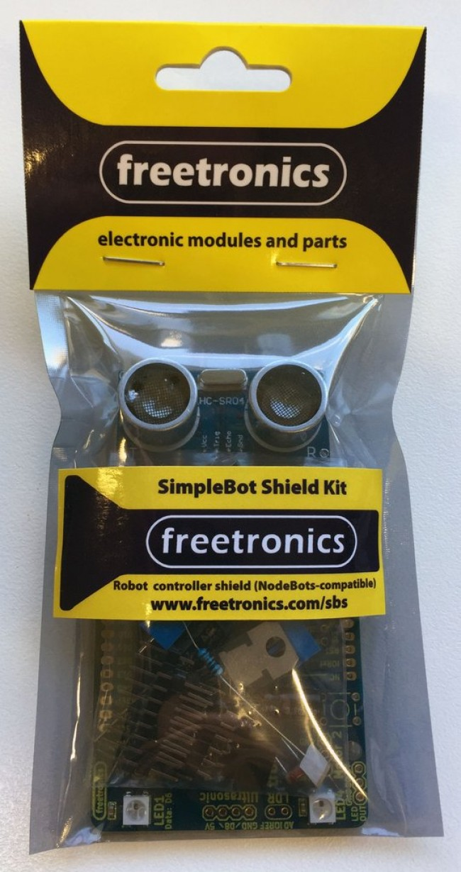 Freetronics SimpleBot Shield Kit CE04520 Freetronics Australia (Image 3)