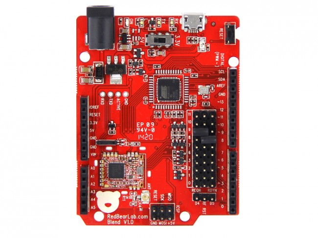 Blend V1.0 - a single board integrated with Arduino and BLE (Seeed Studio)  SS113030018 Seeed Studio Australia (Image 4)