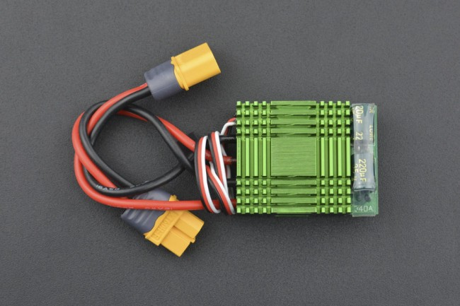 40A Bidirectional Brushed ESC Speed Controller without Break (XT60 Connector) DRI0048 DFRobot Australia - Express Post Australia Wide (Image 4)