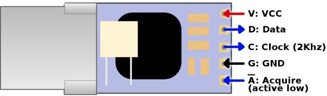 Freetronics IR Temperature Sensor Module CE04550 Freetronics Australia (Image 3)