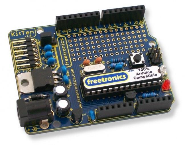 Freetronics KitTen (Arduino-compatible kit) CE04502 Freetronics Australia (Image 1)