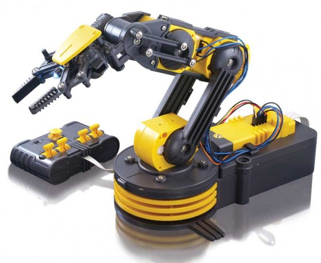 OWI-535 Robotic Arm Edge Kit POLOLU-947 Pololu Australia - Express Delivery Australia Wide (Image 1)