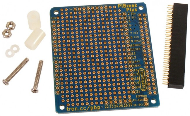 Freetronics PiBreak Plus Raspberry Pi Prototyping Board CE04517 Freetronics Australia (Image 1)
