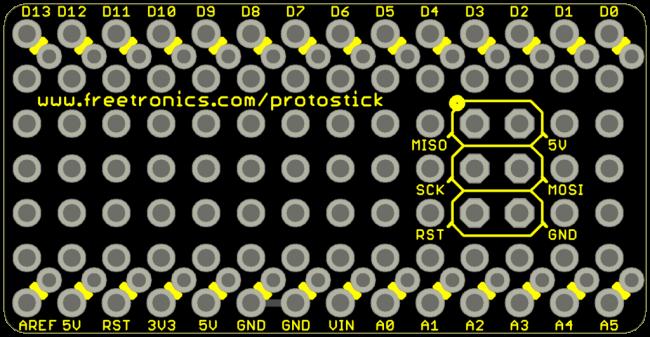 Freetronics ProtoStick CE04546 Freetronics Australia (Image 1)