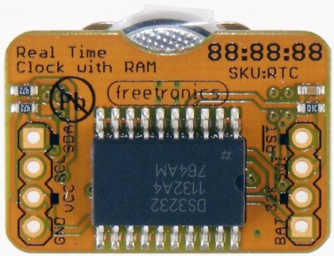Freetronics Real Time Clock (RTC) Module CE04545 Freetronics Australia (Image 2)