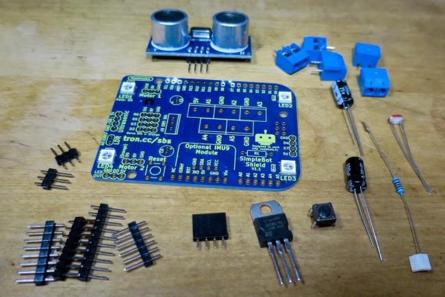 Freetronics SimpleBot Shield Kit CE04520 Freetronics Australia (Image 4)