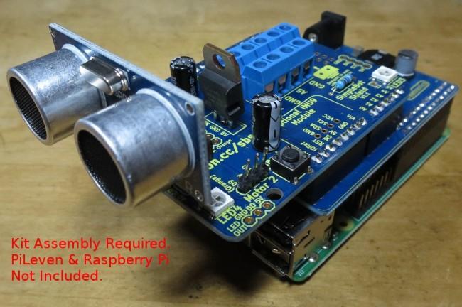 Freetronics SimpleBot Shield Kit CE04520 Freetronics Australia (Image 2)