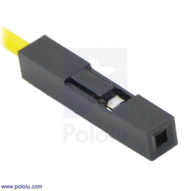 """Wires with Pre-crimped Terminals 10-Pack F-F 12"""" Purple POLOLU-1847 Pololu Australia - Express Delivery Australia Wide (Image 6)"""