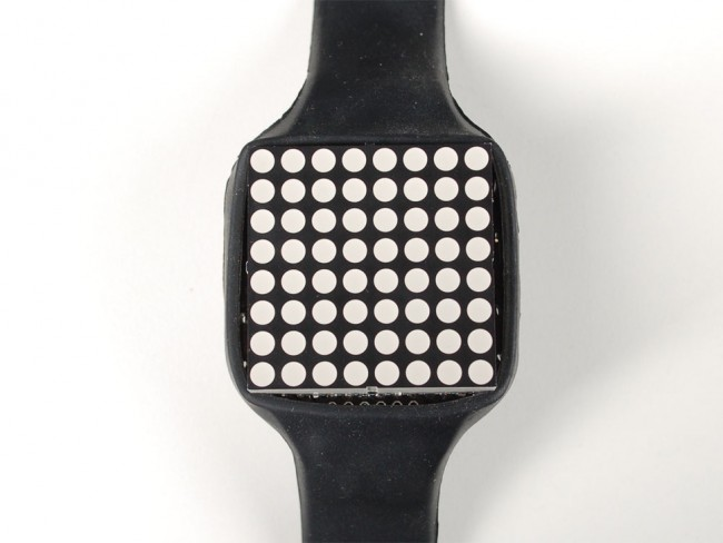 TIMESQUARE DIY Watch Kit - Red Display Matrix ADA1106 Adafruit in Australia - Express Delivery Australia Wide (Image 4)