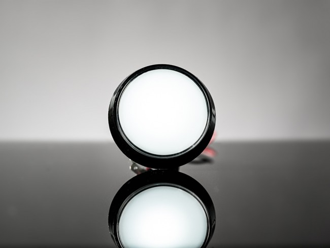 Large Arcade Button with LED - 60mm White ADA1192 Adafruit in Australia - Express Delivery Australia Wide (Feature image)