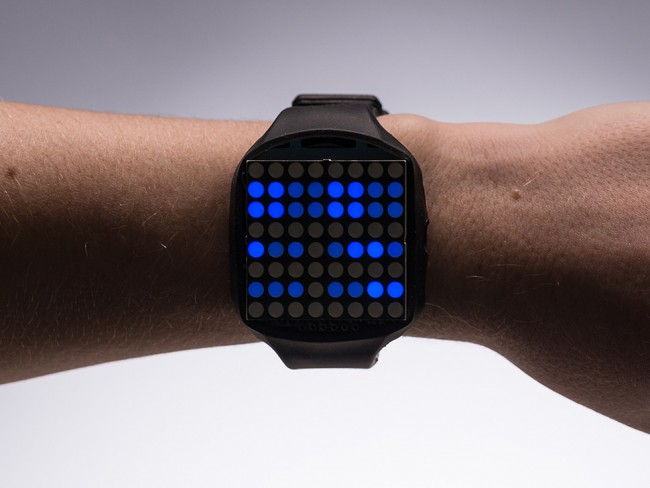 TIMESQUARE DIY Watch Kit - Blue Display Matrix ADA1225 Adafruit in Australia - Express Delivery Australia Wide (Image 3)