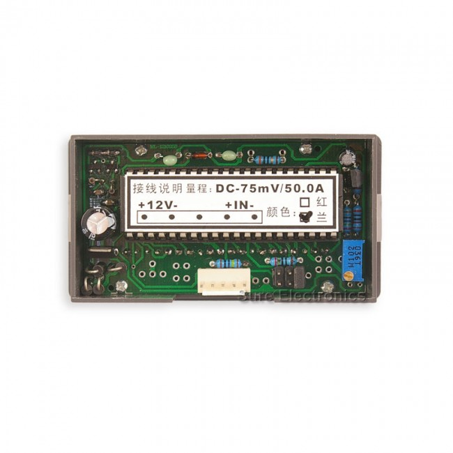 "0.56"" Digital Blue LED 0-50A AC Amp Panel Meter & Shunt (ME-PM155) 017-ME-AA32211 Sure Electronics Australia (Image 6)"