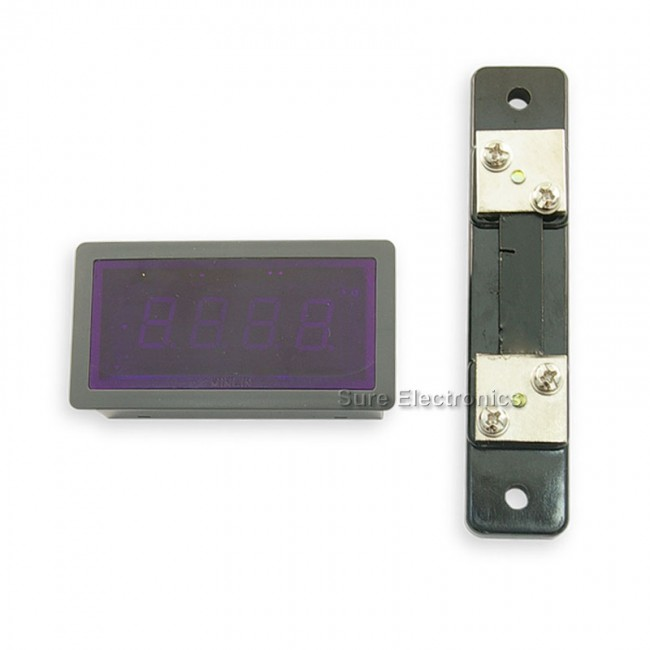 "0.56"" Digital Blue LED 0-50A AC Amp Panel Meter & Shunt (ME-PM155) 017-ME-AA32211 Sure Electronics Australia (Image 5)"