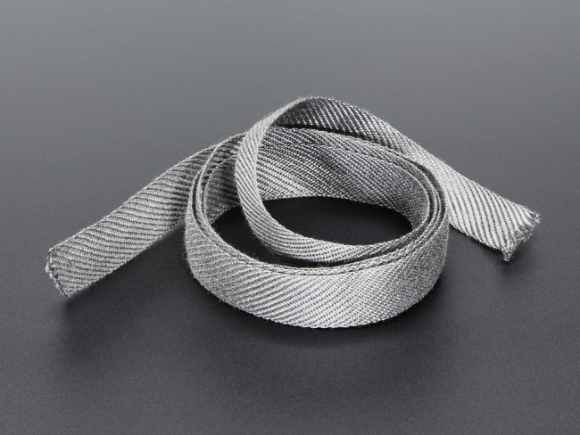 Stainless Steel Conductive Ribbon - 17mm wide 1 meter long ADA1243 Adafruit in Australia - Express Delivery Australia Wide (Feature image)