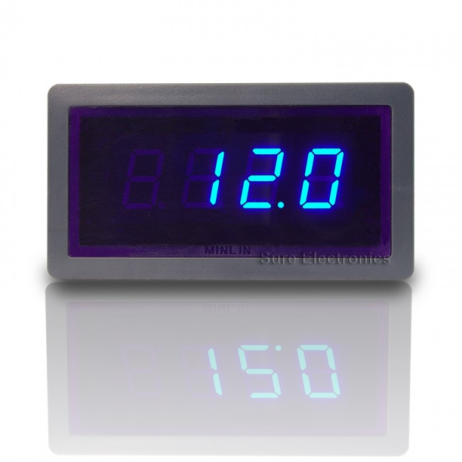 "0.56"" Digital Blue LED 0-50A AC Amp Panel Meter & Shunt (ME-PM155) 017-ME-AA32211 Sure Electronics in Australia (Image 7)"