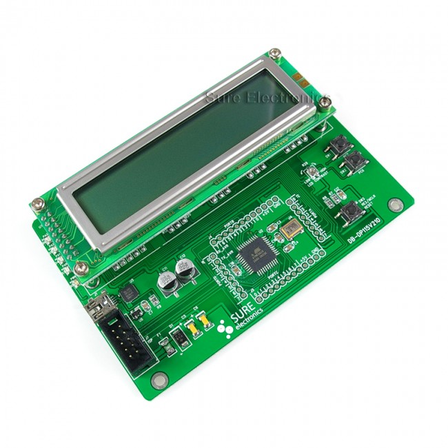 AVR ATMEGA16 Dem2 Demo Development Board LCD & USB 017-DB-DA11211 Sure Electronics Australia (Feature image)
