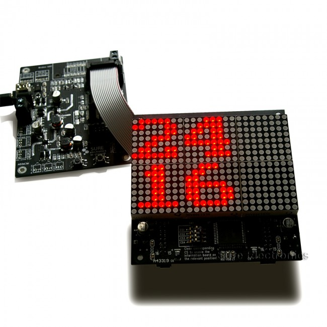 LED Dot Matrix Unit Board Driver - HT1632(DE-DD210) 017-DE-DD22111 Sure Electronics Australia (Feature image)