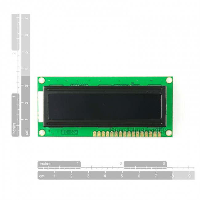 1602 Character LCD Red on Black HD44780 (16X2) 017-DE-LM12114 Sure Electronics in Australia (Image 4)