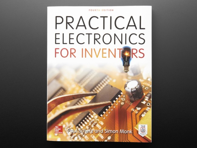 Practical Electronics for Inventors, Fourth Edition ADA1261 Adafruit in Australia - Express Delivery Australia Wide (Image 1)