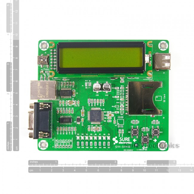 Ethernet Development Board w/ Web Server Demo PIC24FJ256GB106 017-DB-DP11115 Sure Electronics Australia (Feature image)