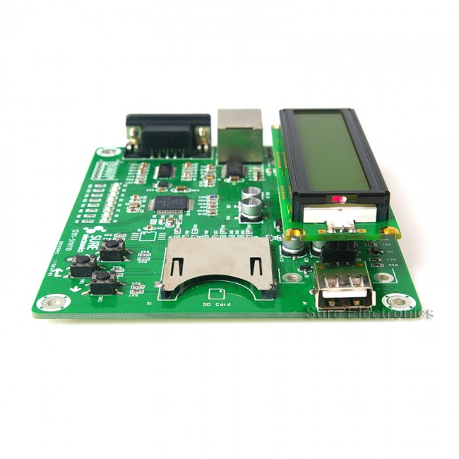 Ethernet Development Board w/ Web Server Demo PIC24FJ256GB106 017-DB-DP11115 Sure Electronics Australia (Image 4)