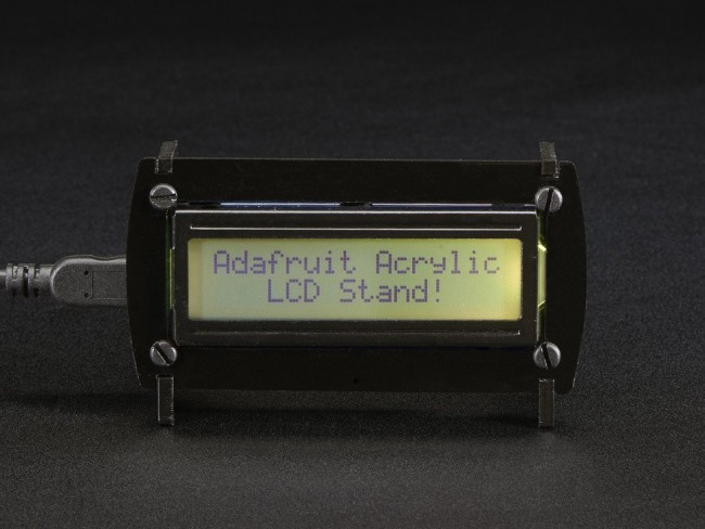 Acrylic Stand for 16x2 Character LCD ADA1365 Adafruit in Australia - Express Delivery Australia Wide (Image 4)