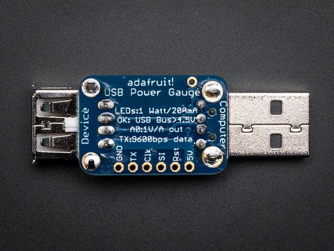 Adafruit USB Power Gauge Mini-Kit ADA1549 Adafruit in Australia - Express Delivery Australia Wide (Image 2)