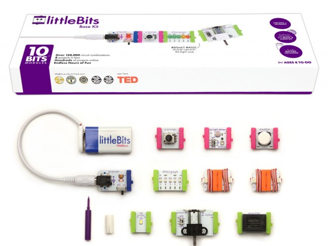 littleBits Base Kit ADA1659 Adafruit in Australia - Express Delivery Australia Wide (Feature image)