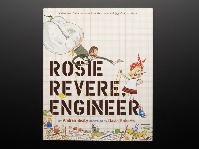 Rosie Revere, Engineer ADA1677 Adafruit in Australia - Express Delivery Australia Wide (Feature image)