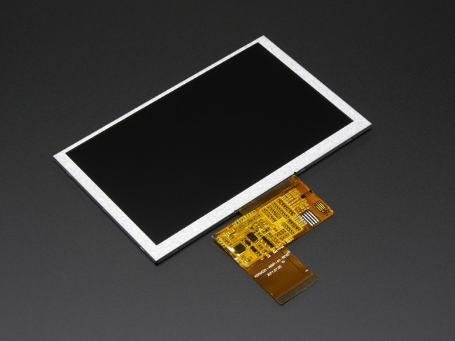 5.0 40-pin 800x480 TFT Display without Touchscreen ADA1680 Adafruit in Australia - Express Delivery Australia Wide (Image 1)