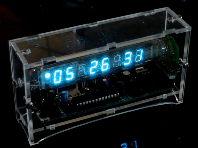 Ice Tube Clock kit - v1.1 ADA194 Adafruit Australia (Feature image)