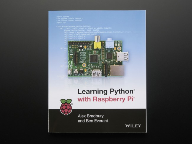 Learning Python with Raspberry Pi by Alex Bradbury ADA1942 Adafruit in Australia - Express Delivery Australia Wide (Image 1)