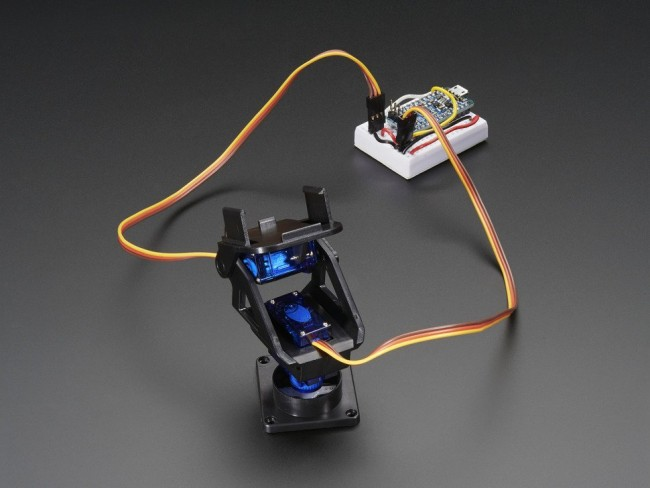 Mini Pan-Tilt Kit - Assembled with Micro Servos ADA1967 Adafruit in Australia - Express Delivery Australia Wide (Image 2)