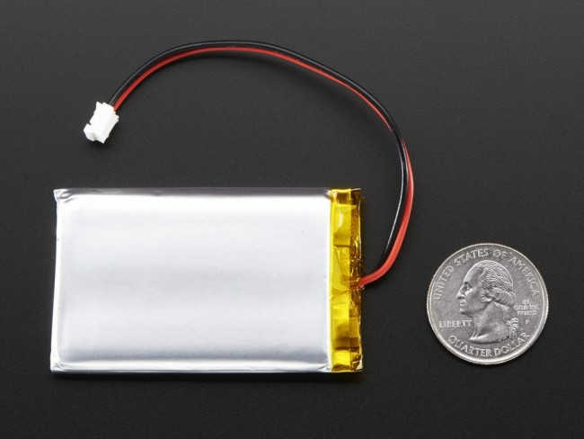 Lithium Ion Battery - 3.7v 2000mAh ADA2011 Adafruit in Australia - Express Delivery Australia Wide (Image 3)