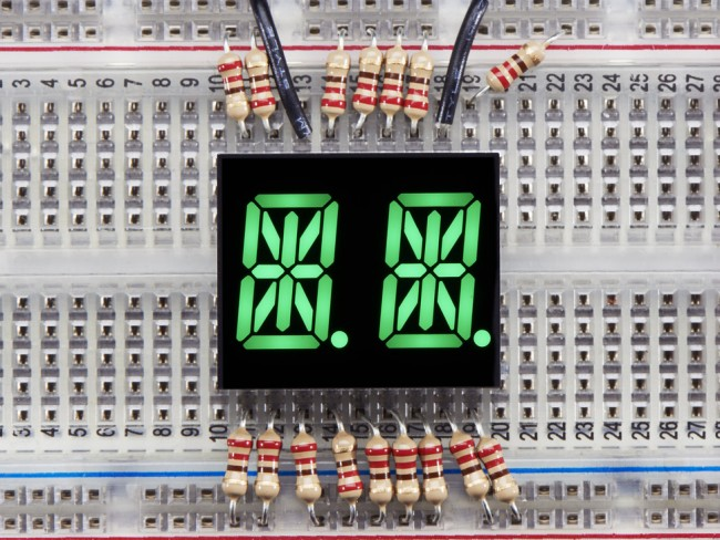 Dual Alphanumeric Display - Green 0.54 Digit Height - Pack of 2 ADA2156 Adafruit in Australia - Express Delivery Australia Wide (Feature image)