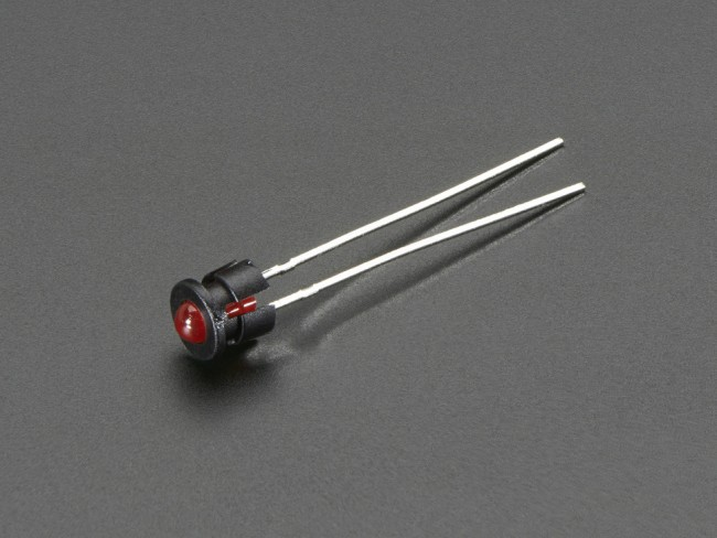 3mm Plastic Bevel LED Holder - Pack of 5 ADA2179 Adafruit in Australia - Express Delivery Australia Wide (Feature image)