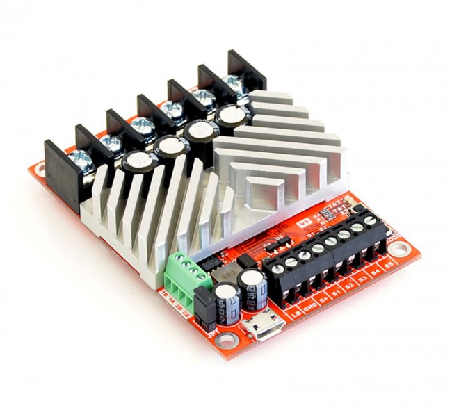 RoboClaw ST 2x45A Motor Controller (V5, screw terminal I/O) 2398 Pololu Australia - Express Delivery Australia Wide (Feature image)