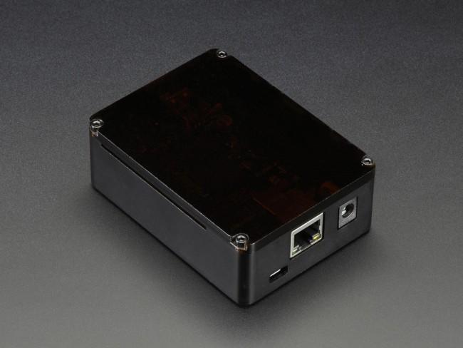 Anidees Beaglebone Black Case - Black Aluminum with Smoke Top ADA2627 BeagleBone In Australia (Feature image)