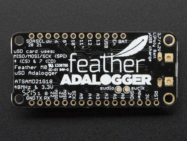 Adafruit Feather M0 Adalogger ADA2796 Adafruit in Australia - Express Delivery Australia Wide (Image 3)