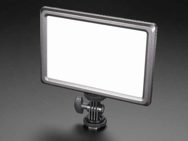Camera-Mount LED Photography Light - CIE Ra 95 - 3200K to 5600K ADA2894 Adafruit in Australia - Express Delivery Australia Wide (Image 5)