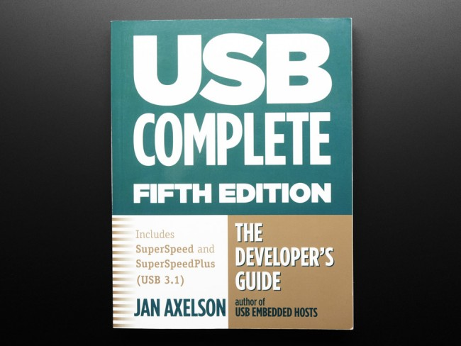 USB Complete: The Developers Guide by Jan Axelson - Fifth Edition ADA3087 Adafruit in Australia - Express Delivery Australia Wide (Feature image)