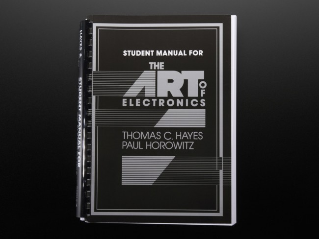 The Art of Electronics - Student manual w/ exercises for 2nd Ed. ADA310 Adafruit in Australia - Express Delivery Australia Wide (Feature image)
