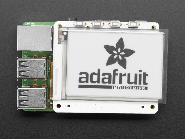 PaPiRus 2.7 eInk Display HAT for Raspberry Pi from Pi Supply ADA3420 Adafruit in Australia - Express Delivery Australia Wide (Image 4)