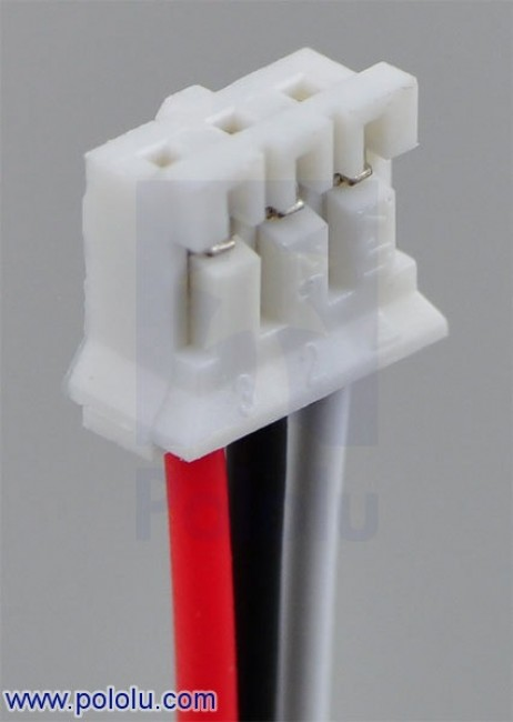 "3-Pin Female JST PH-Style Cable (30 cm) with Female Pins for 0.1"" Housings POLOLU-1798 Pololu Australia - Express Delivery Australia Wide (Image 2)"
