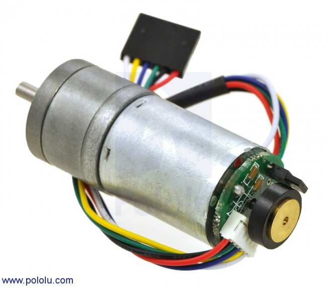 47:1 Metal Gearmotor 25Dx52L mm HP with 48 CPR Encoder POLOLU-2274 Pololu Australia - Express Delivery Australia Wide (Feature image)