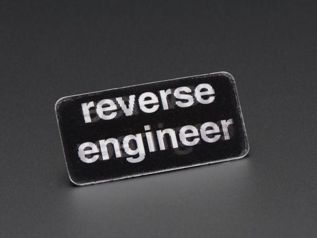 Reverse Engineer - Skill badge, Lenticular printing + pin-on ADA489 Adafruit in Australia - Express Delivery Australia Wide (Image 2)